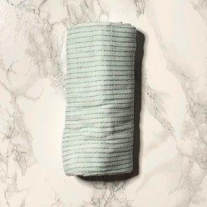 aden + anais Metallic Stripes Silky Soft Swaddle